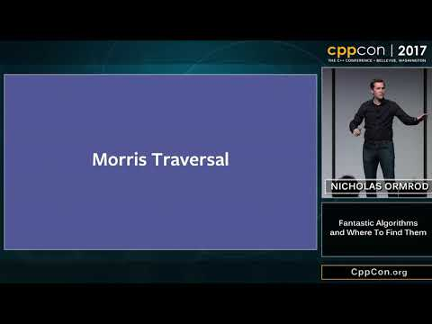 "CppCon 2017: Nicholas Ormrod ""Fantastic Algorithms and Where"