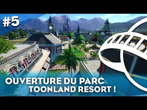 ON OUVRE NOTRE PARC  ! - Planet Coaster #5 | HD