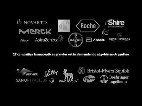 Big Pharma Drop the Case! Spanish animation