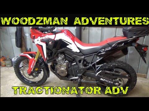 MotoZ Tractionator Adventure Tire Install Honda Africa Twin CRF1000L
