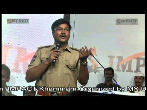 Sri AV Ranganath IPS SP Khammam at IMPACT 2014