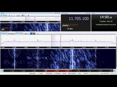 08 05 2018 NHK World Japan Network Radio Japan in English to SEAs 1400 on 11705 T8WH Angel 4 Medorn