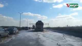 واتس آب الوفد غرق طريق الإسكندرية الدولي