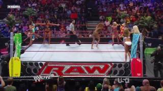 Mickie James, Kelly Kelly & Gail Kim vs. Maryse, Rosa Mendes & Alicia Fox (HD).mp4