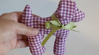 Sew a Cute Fabric Dog Toy - DIY Crafts - Guidecentral