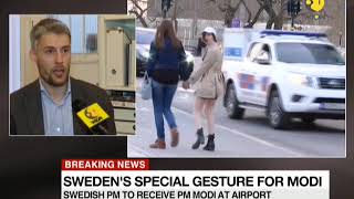 Sweden's special gesture for Indian PM; Modi 1st such foreign dignitary to get such a welcome
