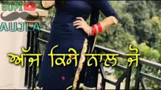 Sakhiyaan song Maninder Buttar( DJ Punjab .com ) WhatsApp's status video