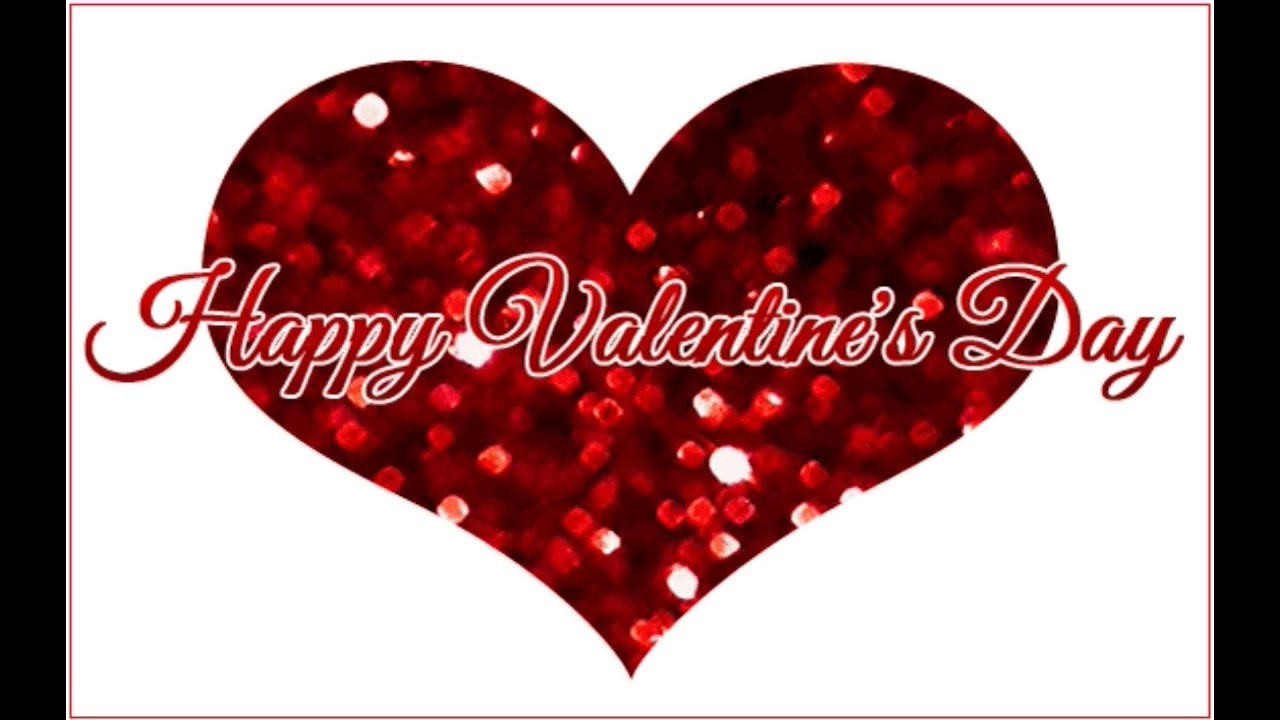 Happy Valentine Day 3d Love Heart Wishes Gift Video Happy