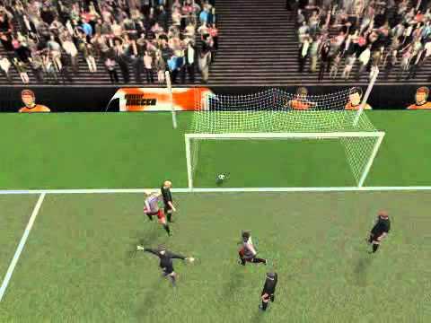 (HooliNerd) Nice Goal in Power Soccer 001