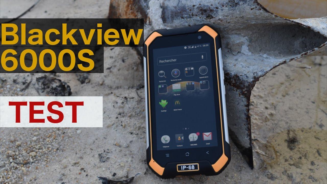 Test du blackview bv6000s smartphone antichoc pas cher - Smartphone incassable pas cher ...