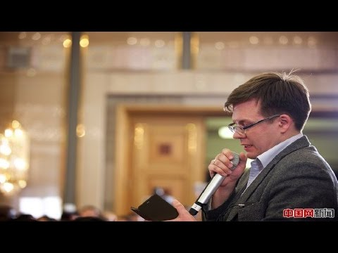 ITAR-TASS question on business environment & economic hard landing