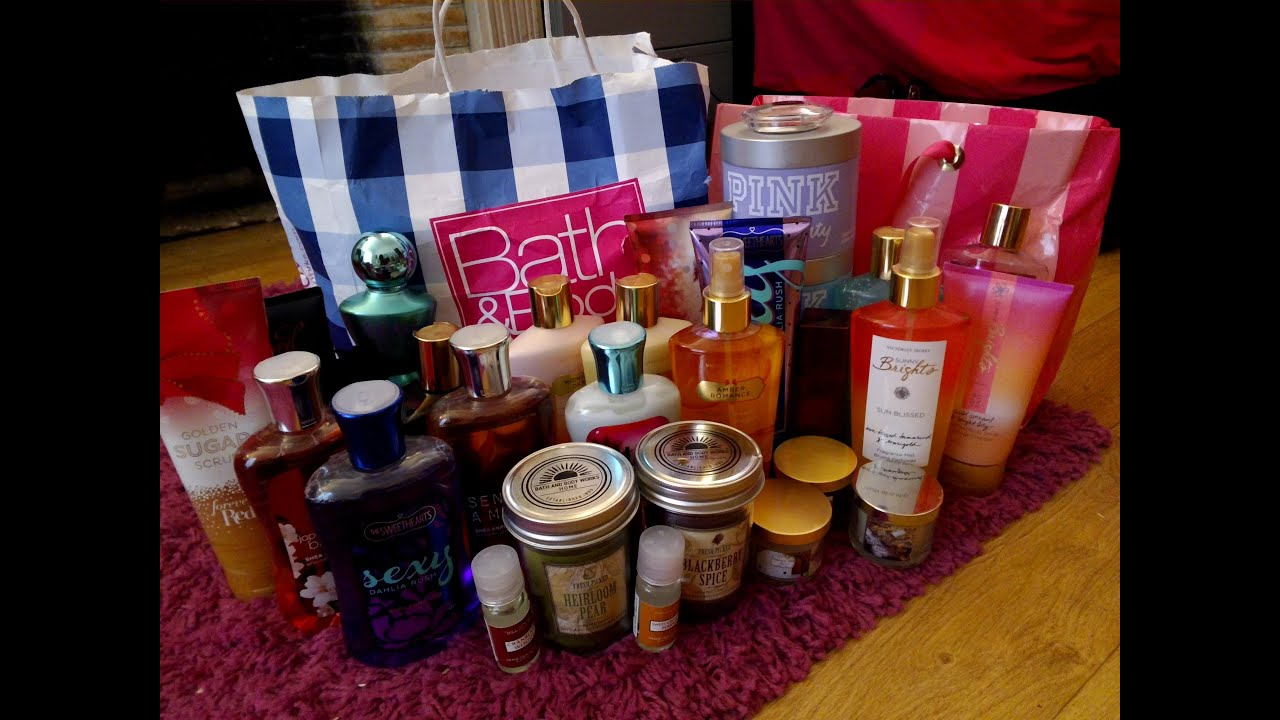 Bath And Body Works Gifts For Girlfriend