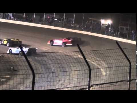 WOW! Wreck of the Week from Portsmouth Raceway Park 8/16/14.