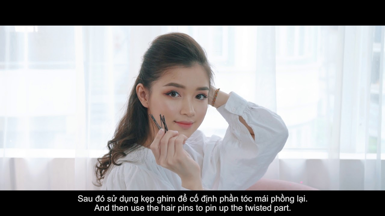 HƯỚNG DẪN BỚI MÁI PHỒNG - HOW TO MAKE A FRONT VOLUME - FRONT PUFF