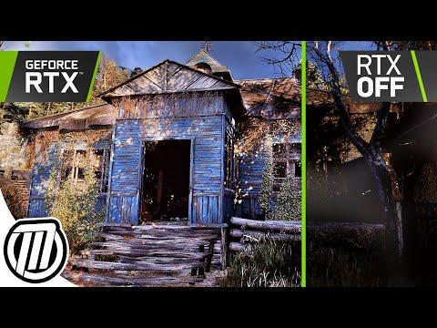 Metro Exodus: Ultimate RTX Realism 4K 60fps - ON vs OFF   2080 Ti Gameplay