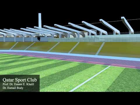 CFD Solutions: Qatar Stadium