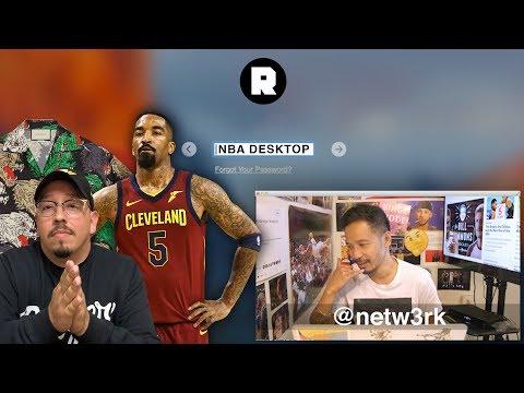 J.R. Smith's Blatant Push and Selling Kawhi    NBA Desktop With Jason Concepcion   The Ringer