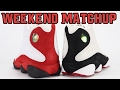 Air Jordan 13 Chicago vs Air Jordan 13 He Got Game | Weekend Matchup