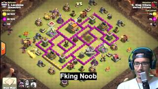 Clash of Clans- How Not To Attack With Dragons