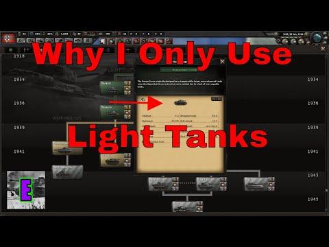 HOI4- Why I only use light tanks |