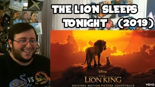 """Gambar cover Gors """"The Lion King (2019) Soundtrack"""" The Lion Sleeps Tonight w/ Billy Eichner, Seth Rogen REACTION"""