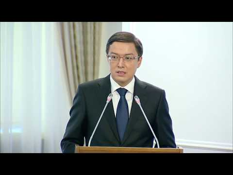 О законопроекте по вопросам валютного регулирования и валютного контроля (Д. Акишев)