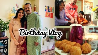Husband's Birthday Vlog - Indian Family in Canada