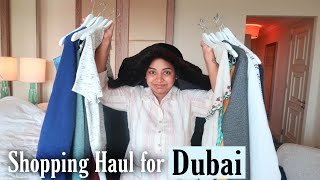 Things we bought for our dubai Trip | Clothes and shoes Haul
