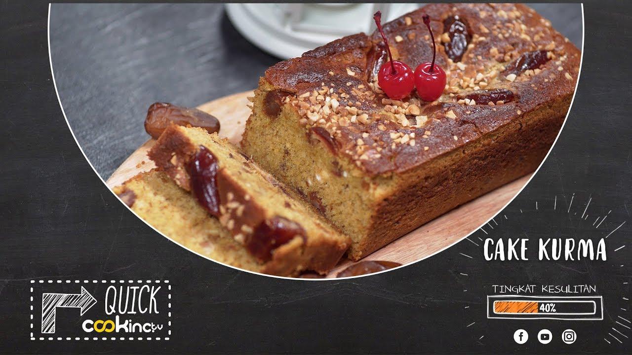 RESEP CAKE KURMA | QUICK COOKING - YouTube