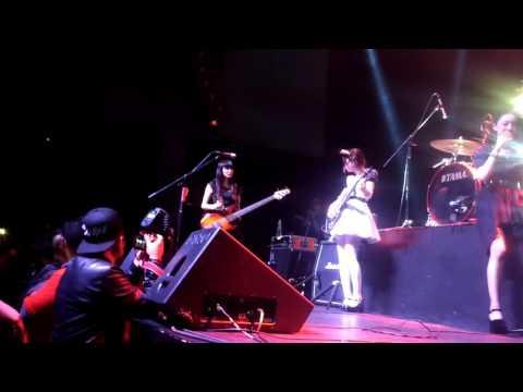 BAND-MAID CONCERT MÉXICO Presentation Of Members/Arcadia Girl Sala Corona 9/10/16 Part 7