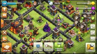 Soberania nos ceus do clash of clans