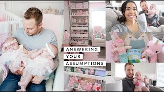 NURSERY CHAT AND ANSWERING YOUR ASSUMPTIONS!💕 -SLMissGlamVlogs