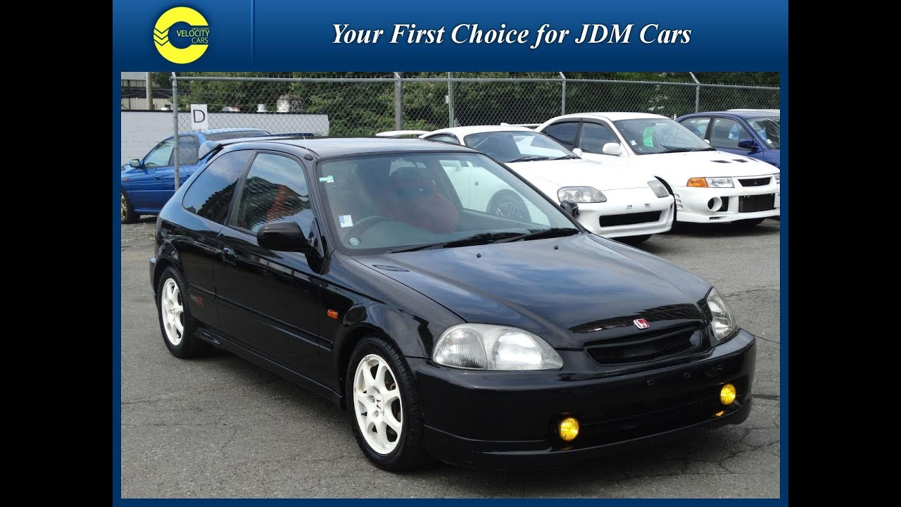 1997 honda civic type r for sale in vancouver bc canada youtube. Black Bedroom Furniture Sets. Home Design Ideas