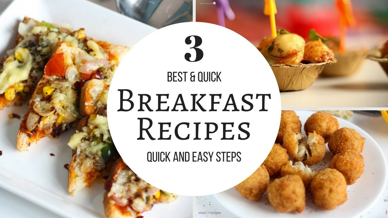 10 Easy, 5-Minute Breakfast Ideas photo