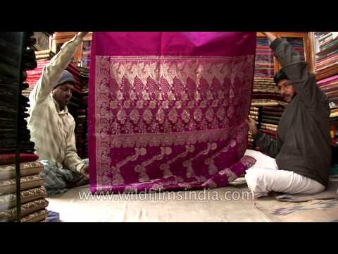 Hand crafted and hand woven Banarasi sarees from master weavers in Varanasi
