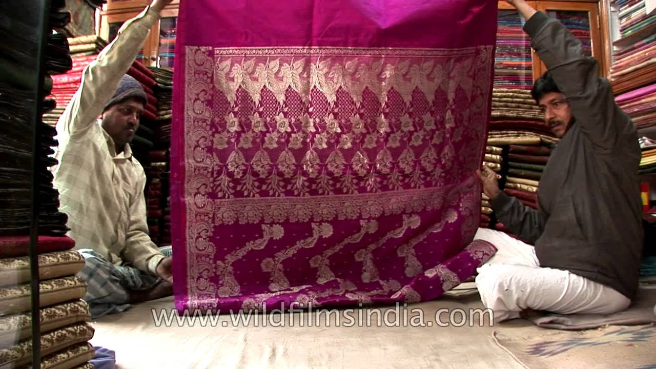 Hand crafted and hand woven Banarasi sarees from master weavers in Varanasi