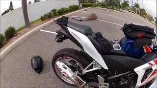 2012 Honda CBR250R Yoshimura exhaust sound