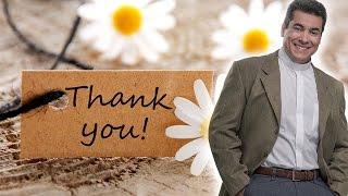 A importância da gratidão! - Padre Chrystian Shankar