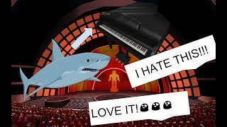 Robloxians in Roblox Got Talent React To Baby Shark
