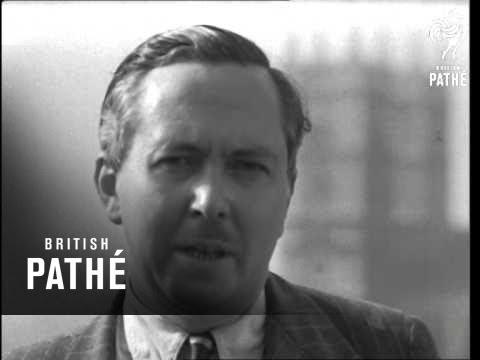 Harold Wilson Speaks On Clothing (1948)