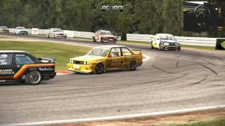 Project cars. Upcoming 25 laps race. Touring class, Oulton park