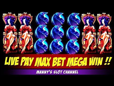 Mega Big Win!! Aristocrats Wicked Winnings 4 on Max Bet @ Barona Casino