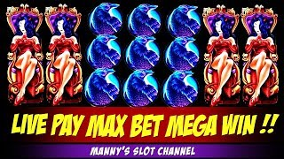 Mega Big Win!! Aristocrats Wicked Winnings 4 on Max Bet @ Barona Casino