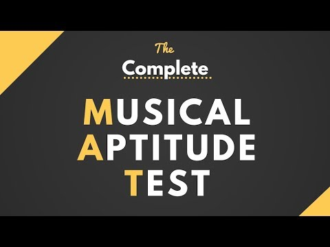 The Ultimate Musical Aptitude Online Test Youtube