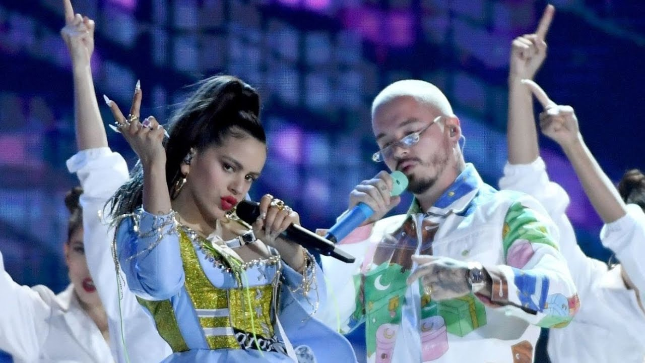 J Balvin ROSALA Sean Paul  Con AlturaContra La Pared Billboard Latin Awards ft El Guincho