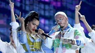 J Balvin  Rosal  a  Sean Paul - Con AlturaContra La Pared  Billboard Latin Awards  ft  El Guincho Resimi
