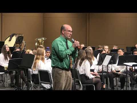 Haslett Middle School Band - Winter Concert 2019