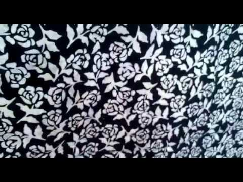 100% Cotton batik fabric by the yard with tie dye technique @Batikdlidir