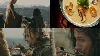 грибной крем суп с трюфелем от Хоббита Фродо ( Властелин Колец ). Кино Кулинария от Шоу Жарь Пей