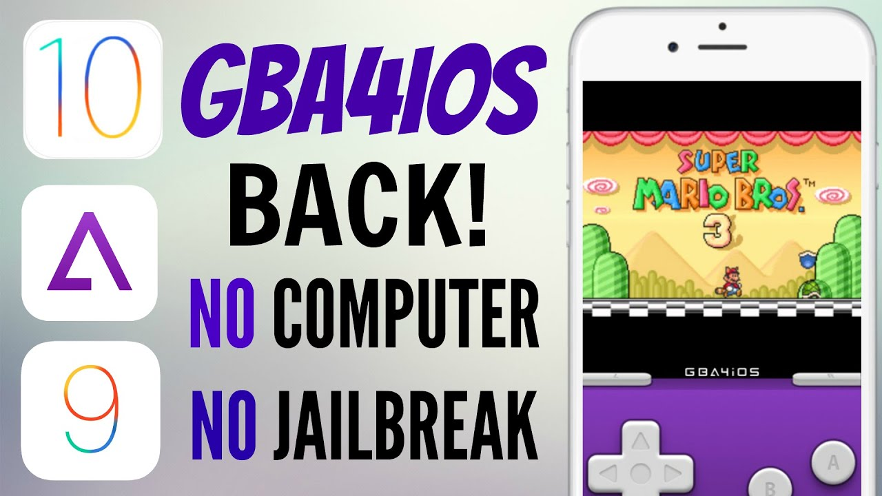 how to download gba4ios ios 10